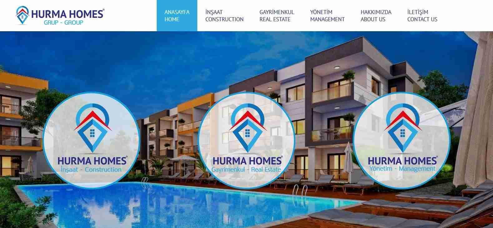 hurmahomes website